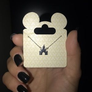 disney castle necklace